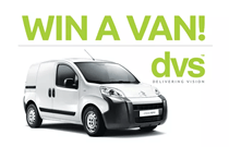 DVS Ltd customers have chance to win a van!