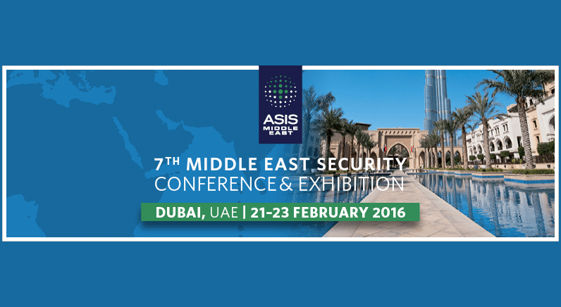 ASIS 7th Middle East Security Conference and Exhibition