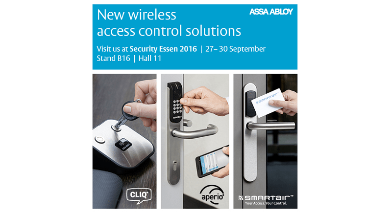 ASSA ABLOY showcases new access control solutions at Security Essen