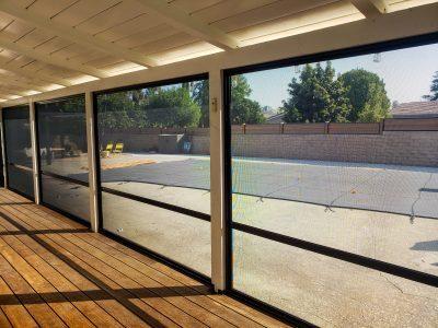 Patio enclosure security screens by security plus las vegas