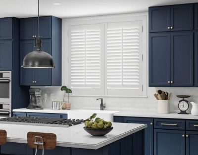 window treatment shutters in partnership with security plus las vegas
