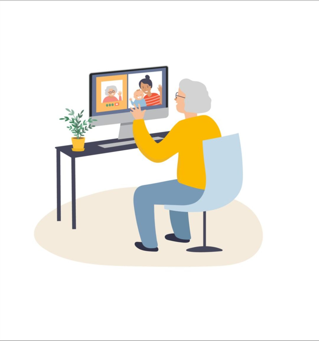Connect virtually with your loved ones