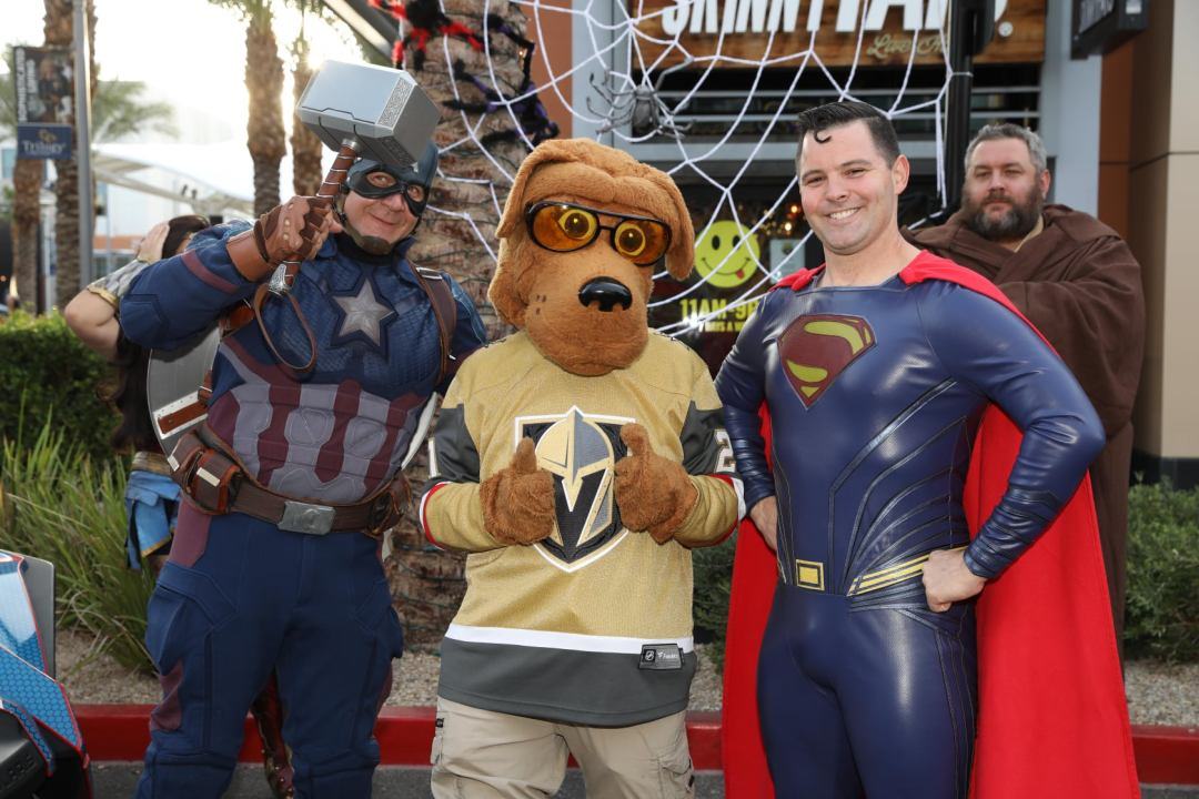 Marvel and DC came out to Summerlin's National Night Out