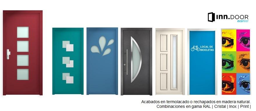 Puertas de seguridad y eficiencia energetica inn ecofeel