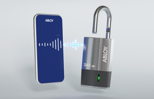 Abloy creates a wireless Bluetooth padlock for various applications (image)