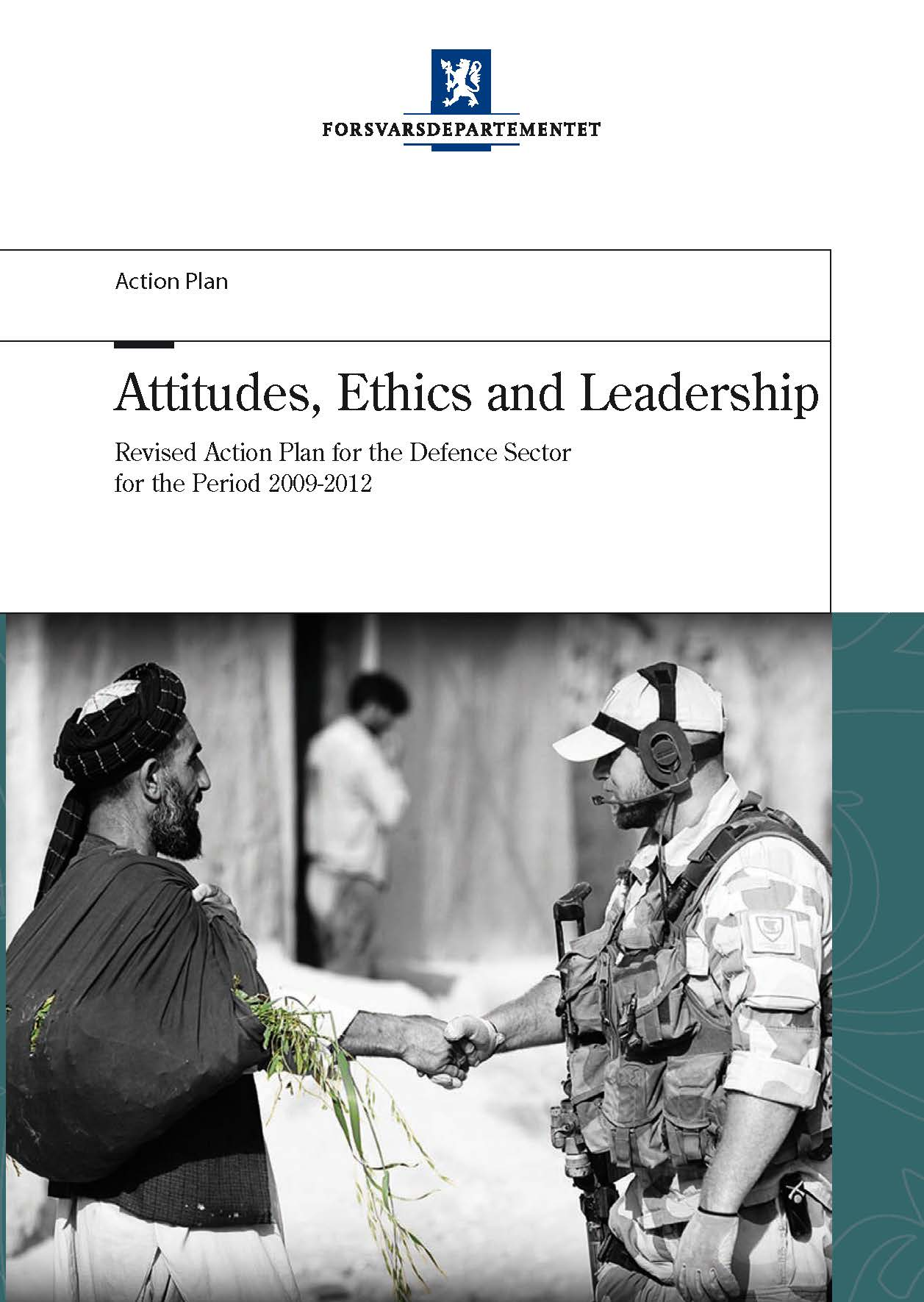 Action Plan On Attitudes Ethics And Leadership