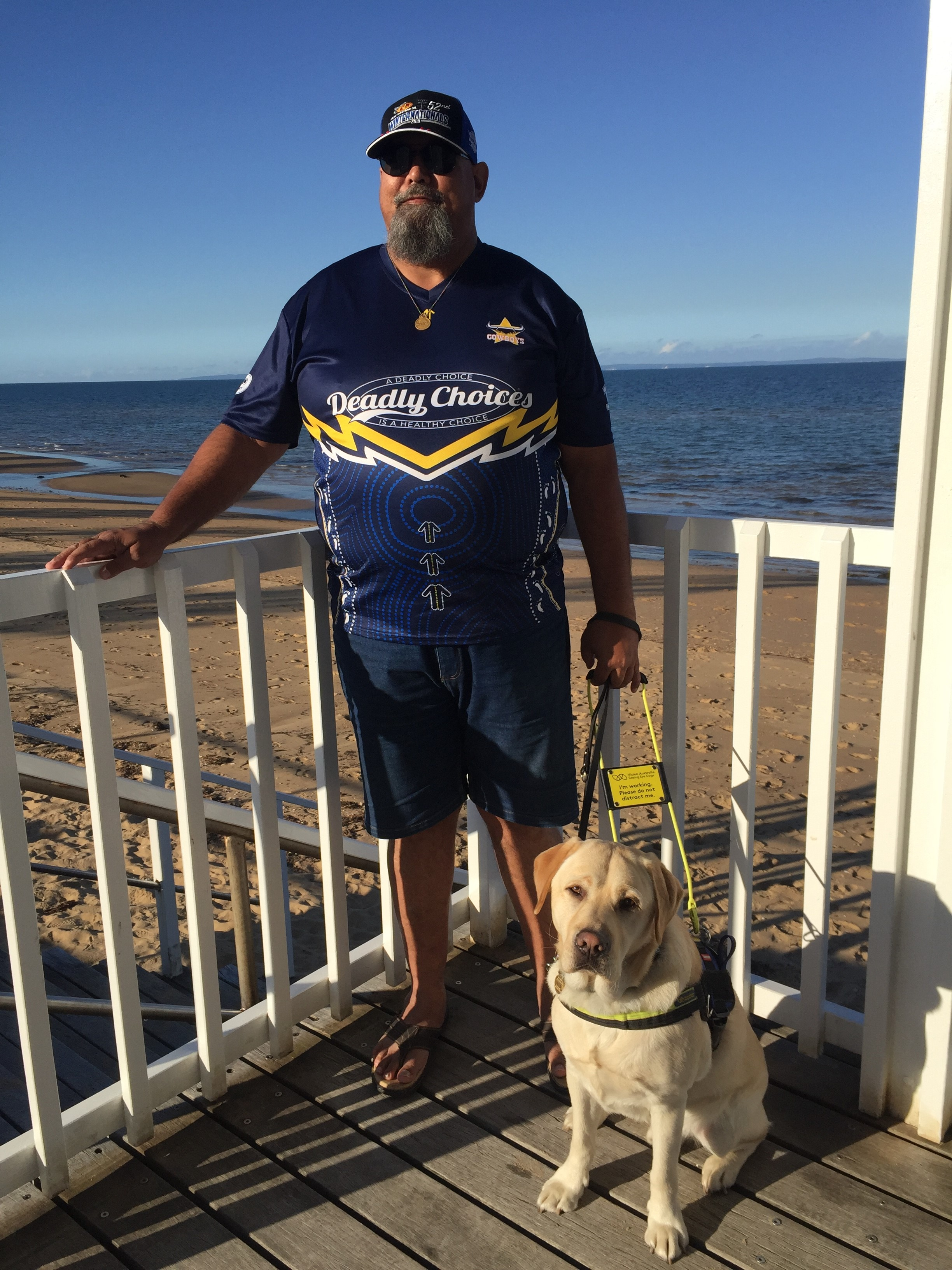How Seeing Eye Dog Xenon Restores A Sense Of Community For