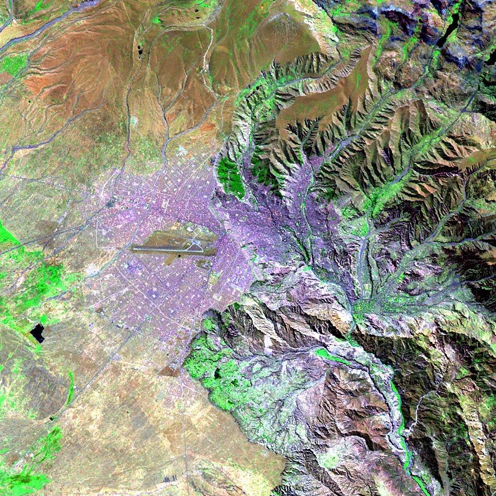 America South Map Cuzco