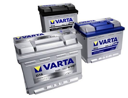 Особенности аккумуляторов Varta