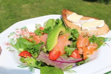 Avocado & Salmon Salad