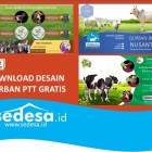 Download Desain Poster Qurban PowerPoint Gratis