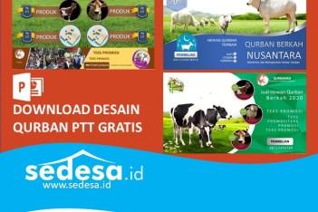 Download Desain Poster Qurban PowerPoint Gratis