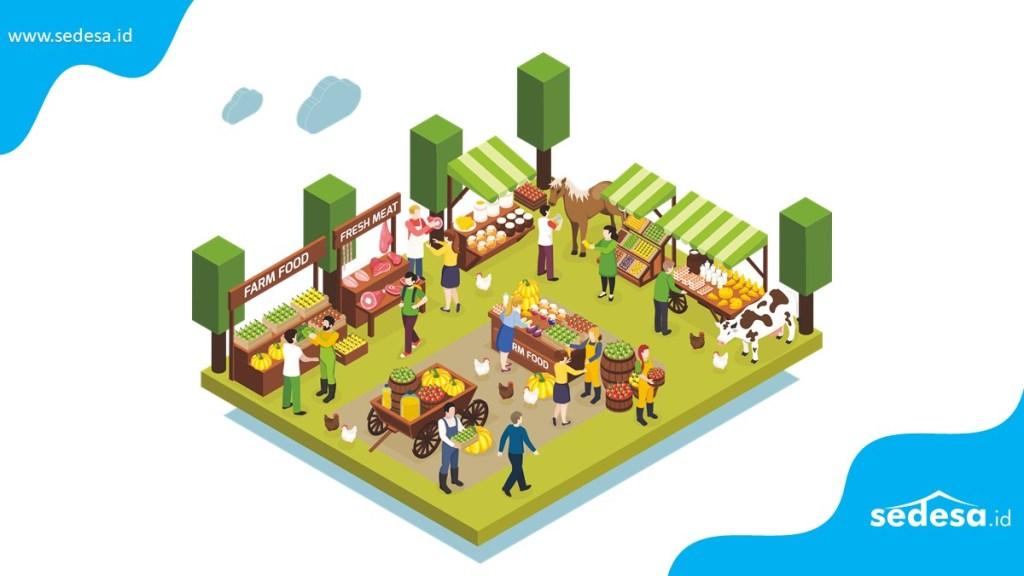Potensi Unit Usaha BUMDes Pasar Desa