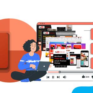 Kumpulan Template Video Promosi PowerPoint Gratis