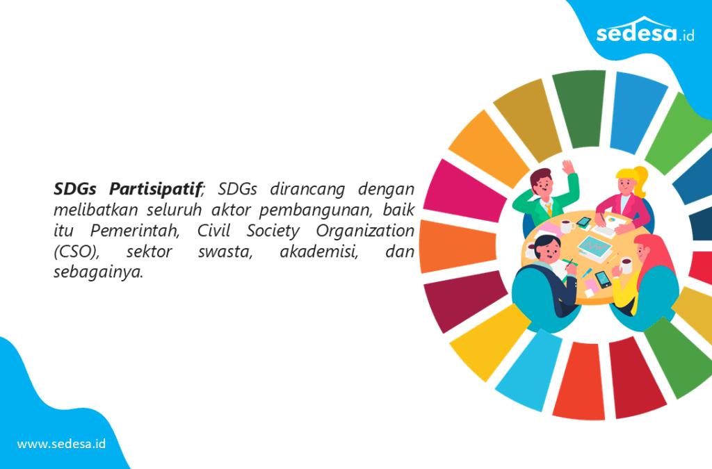 SDGs Dirancang Secara Partisipatif