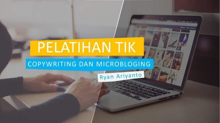 E learning Sedesa Copywriting dan Microblogging