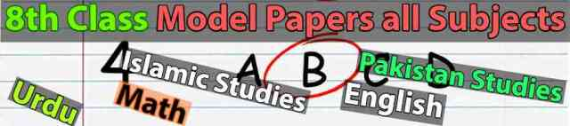 8th-class-model-papers-cover