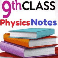 9th Physics Important Questions Notes