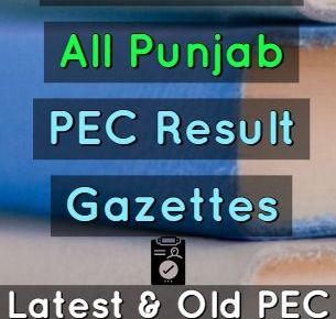 download-pec-result-gazettes-of-all-Punjab-fi