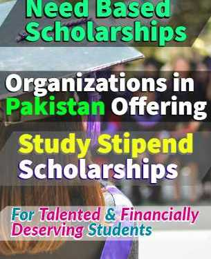 Diya Pakistan Foundation Need Based Study Stipends Scholarships
