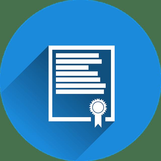 Icone de contrat d'assurance