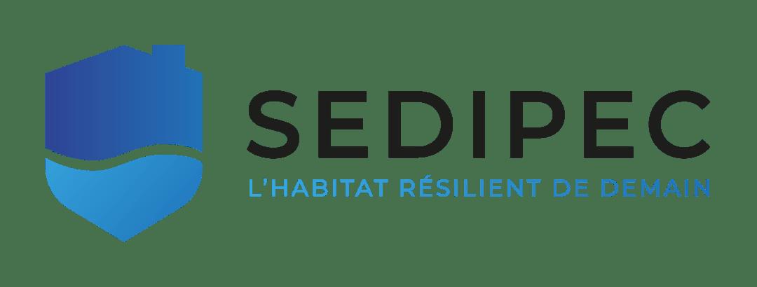 Logo entreprise SEDIPEC qui propose des solutions anti-inondation