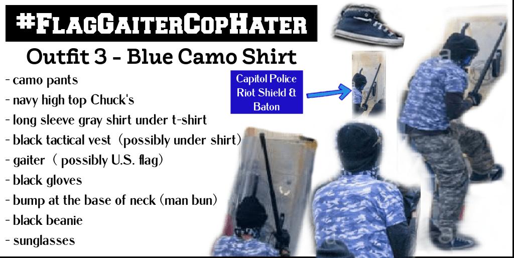 #FlagGaiterCopHater