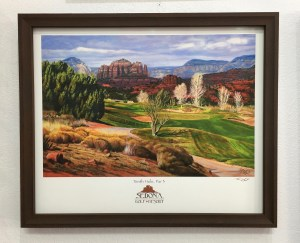 Custom picture framing for Sedona and VOC residents