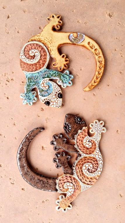 Lizards by Jeannette Tuscher