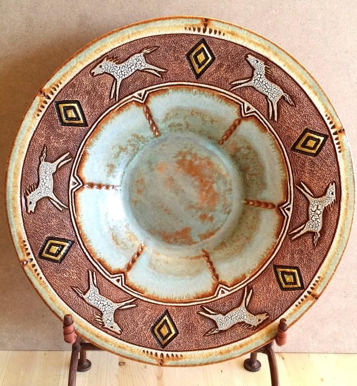 Platter by Jeannette Tuscher