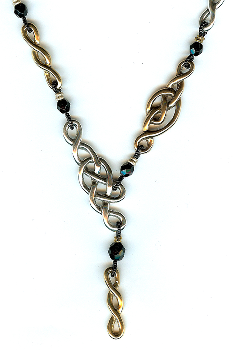 Infinity Knots Necklace #2 for web