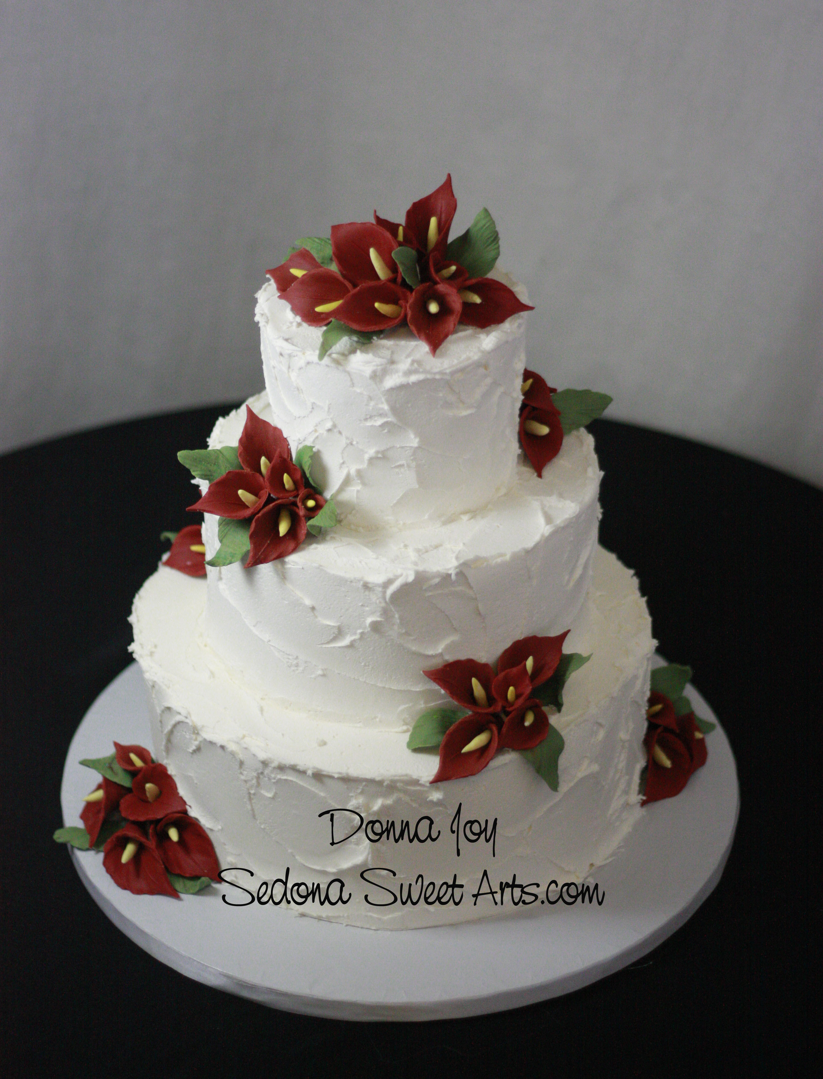 Rustic  organic  Natural wedding cakes     Sedona Wedding Cakes The next cake has a great