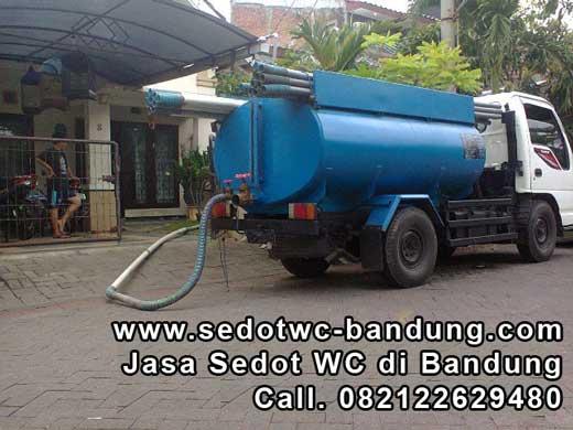 Mobil sedot tinja wc Bandung
