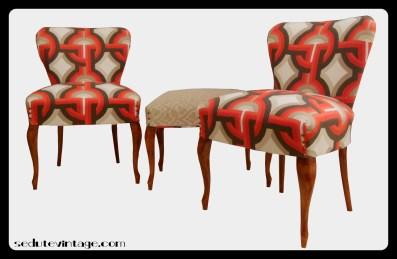 Salottino da camera - Slipper chair set