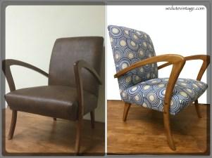 Poltroncina anni 20 - 1920s armchair