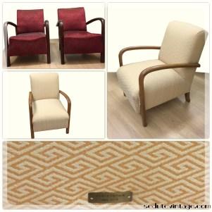 Coppia poltrone Art Decò - Art Decò armchairs