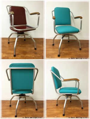 Sedia ufficio vintage - Vintage desk chair