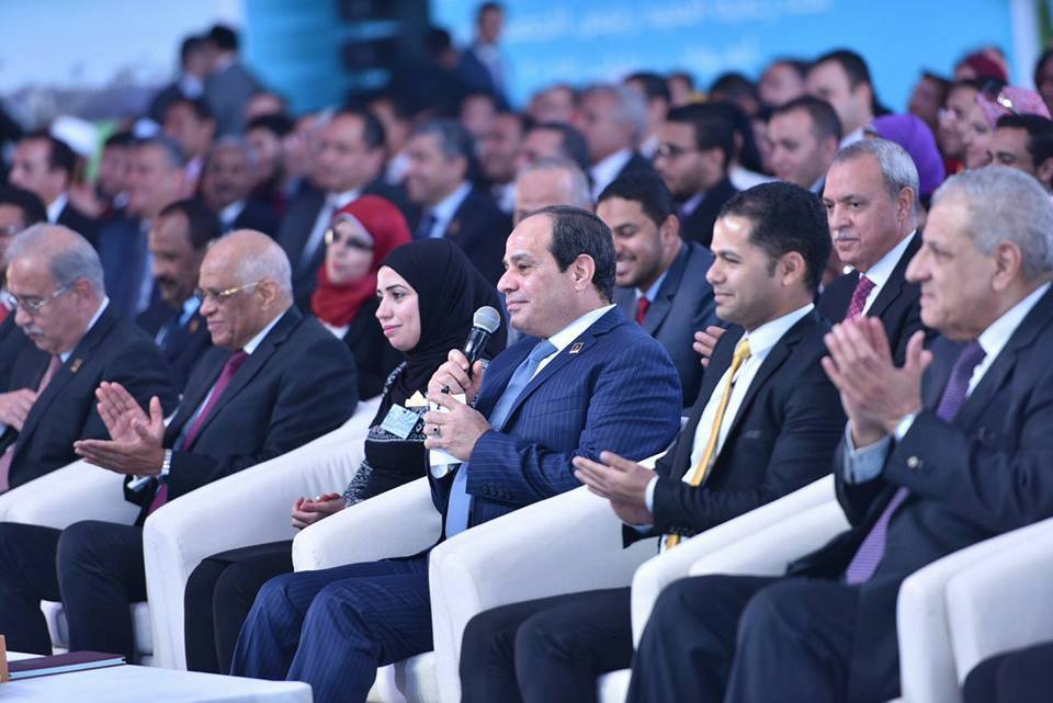 Sisi attends 2nd youth forum in Aswan