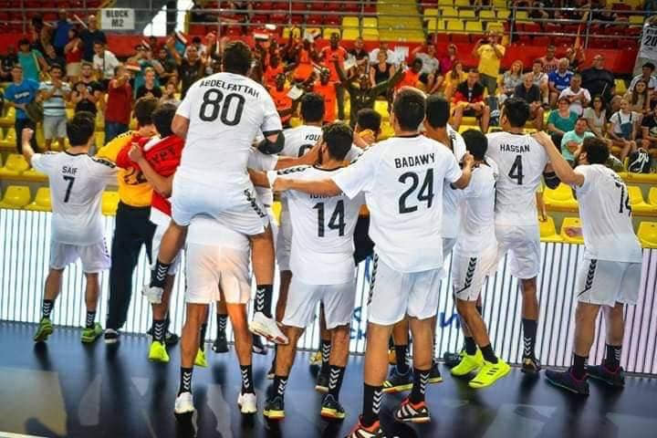 Egypt's U-19 handball national team