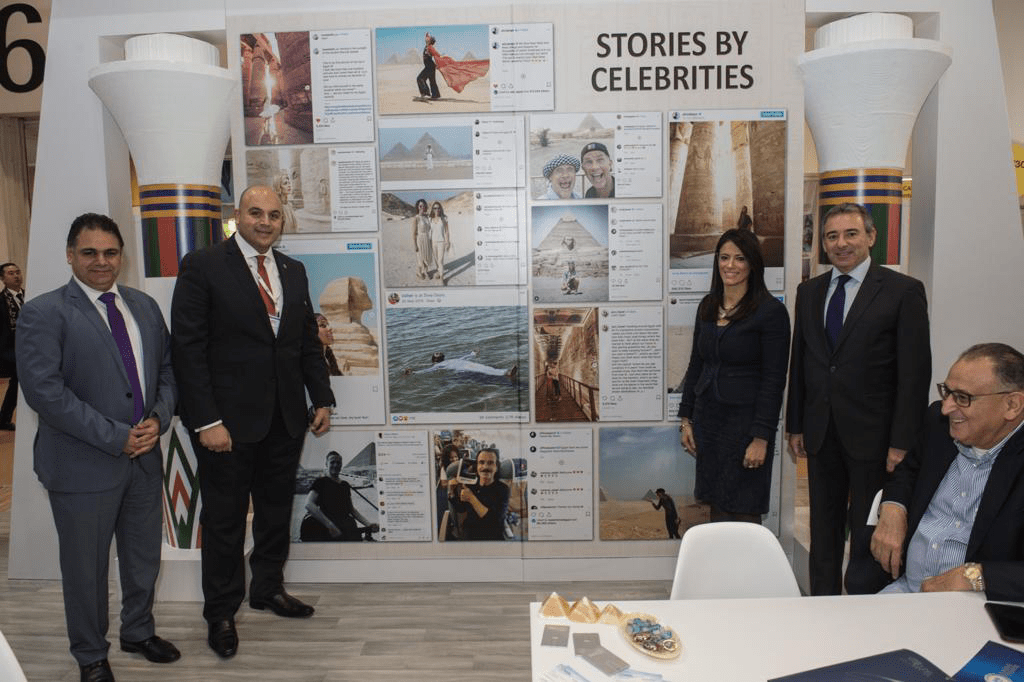 Egypt's Pavilion at 2019 WTM in London