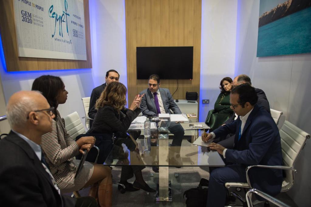 Youssef Meets with Tour Operators' Representatives