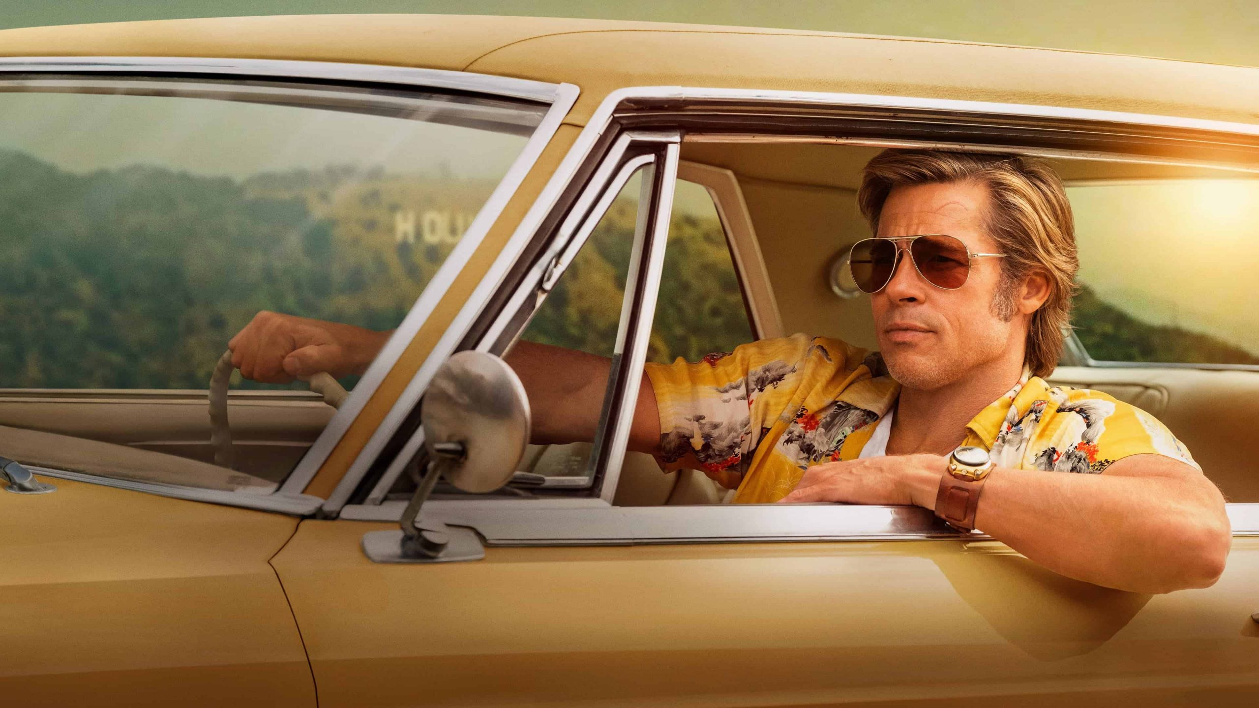 "Brad Pitt in ""Once Upon a Time in Hollywood"""