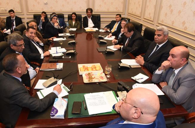 The meeting of the parliament` Culture, Information and Antiquities Committee