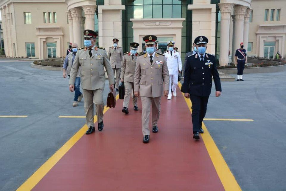 Egyptian Chief of Staff Arrives in Khartoum for Talks