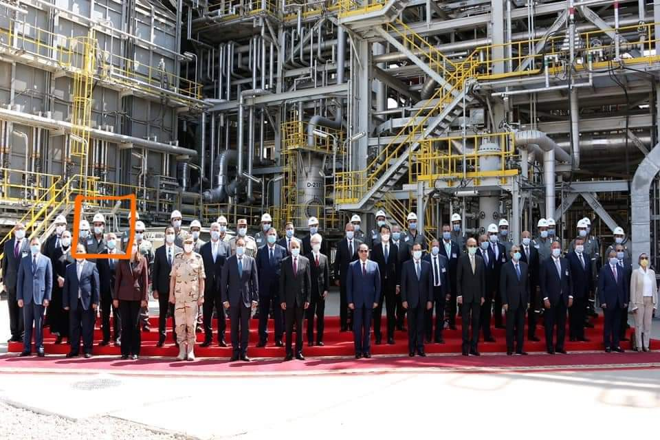 During President Sisi's visit to the company