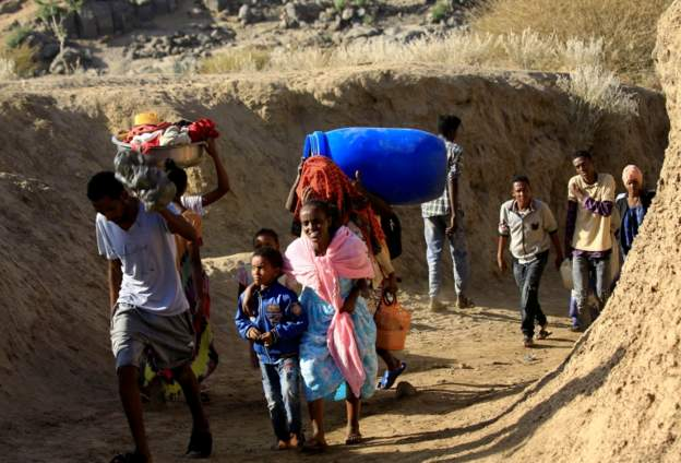 Refugees Fleeing to Sudan