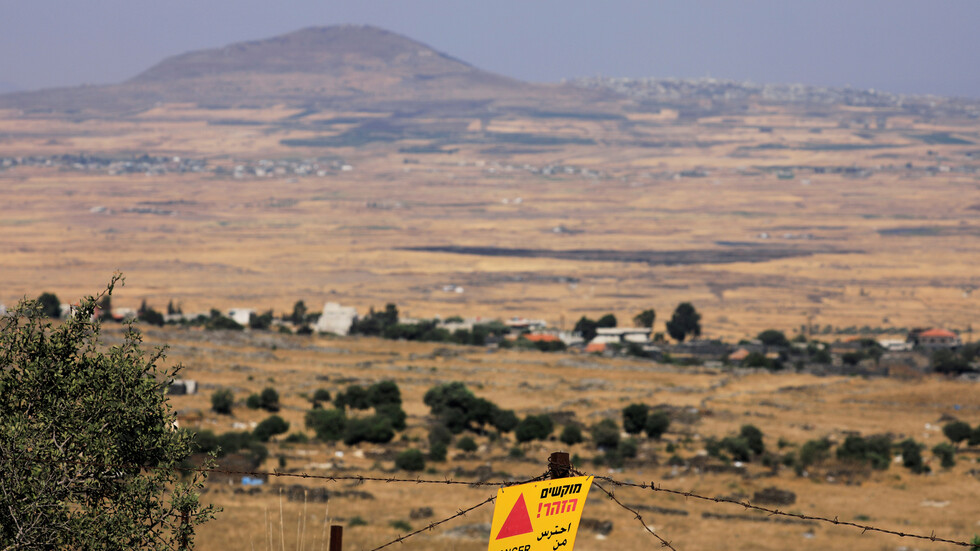 Explosive Devices on Golan Heights