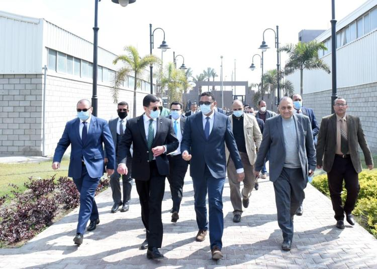 GAFI Chairman Inspects Mit Ghamr Investment Zone