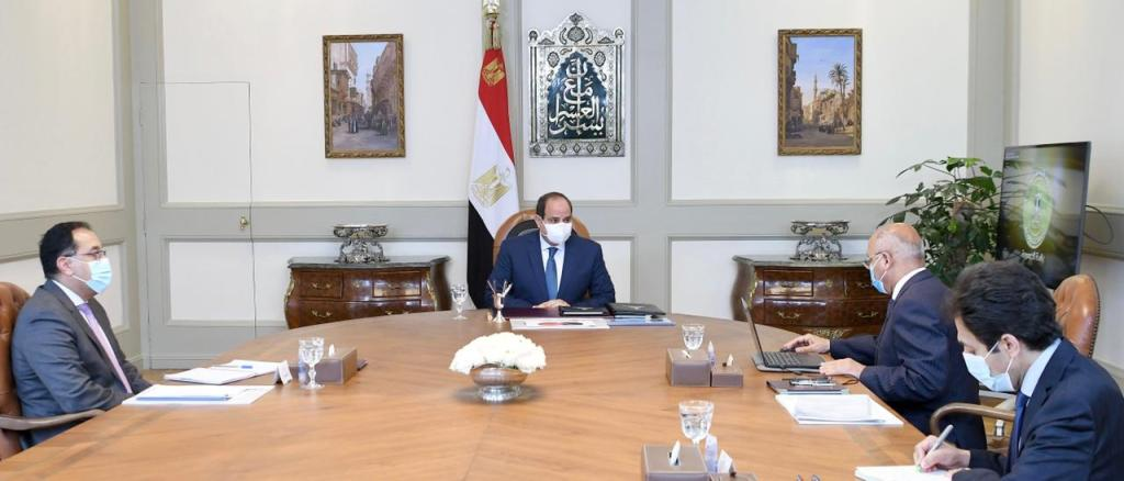 Sisi Discusses Cooperation with French Alstom CEO