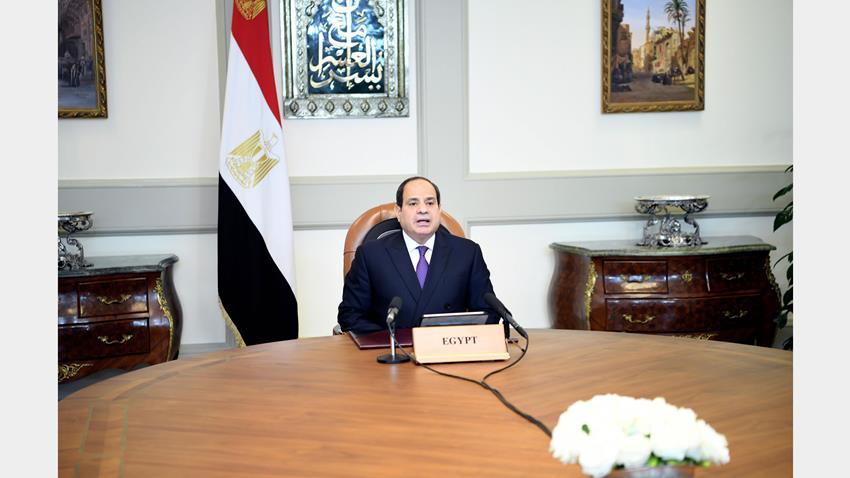 Sisi Urges Fair Vaccines for Africa at 2nd Edition of Aswan Forum